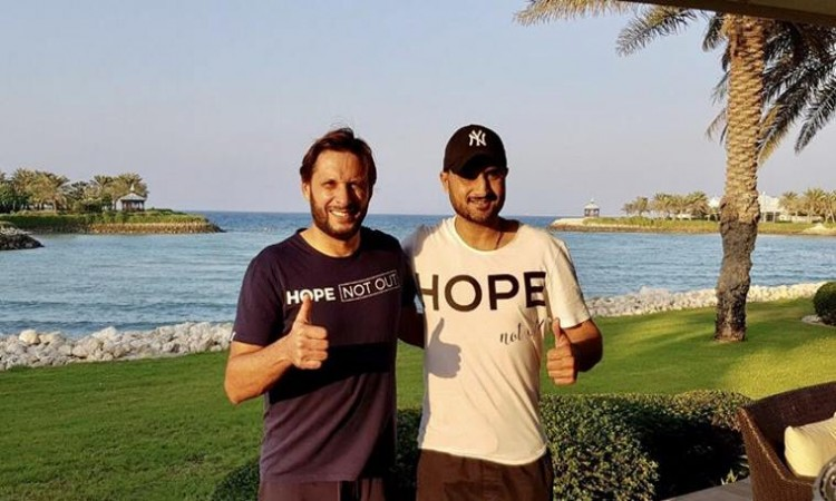 Harbhajan Singh comes in support of Shahid Afridi Foundation