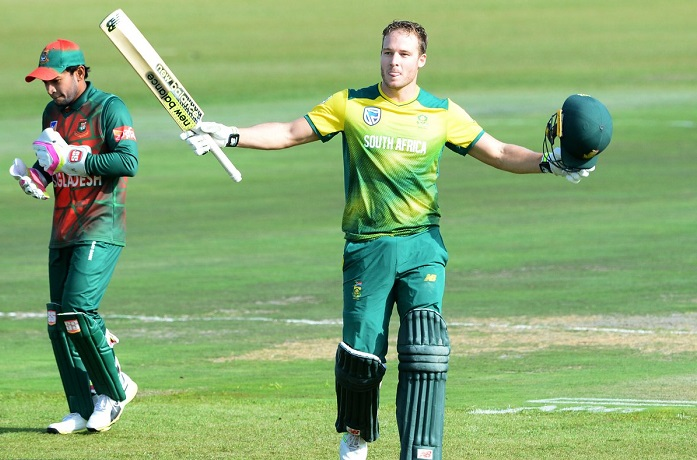 South Africa beat Bangladesh by 83 runs to clinch t20 series 2-0
