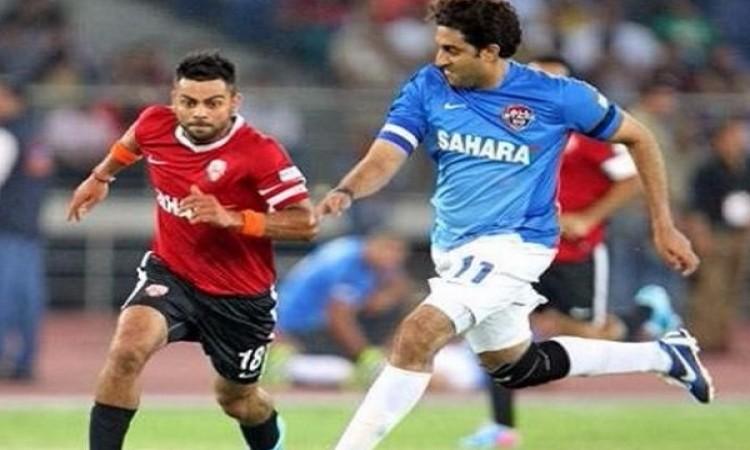 एक बार फिर विराट कोहली और बॉलीवुड के स्टार्स होगें मैदान पर, खेली जाएगी फु Images