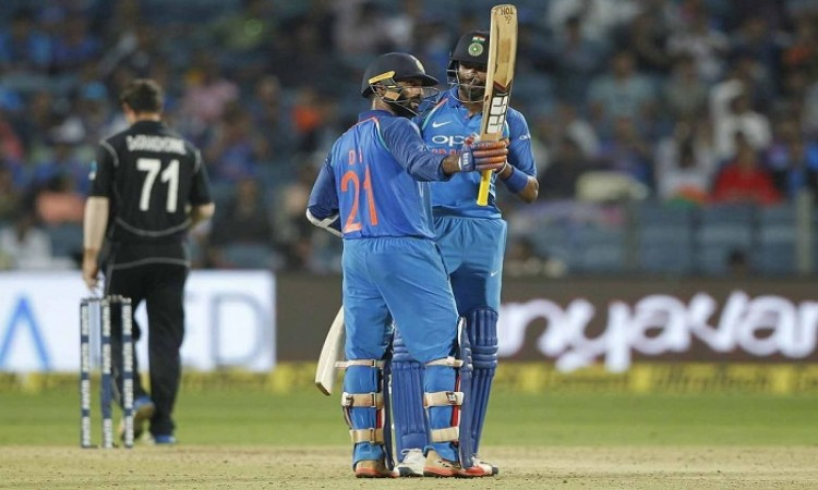 India beat New Zealand by 6 wickets to level series 1-1