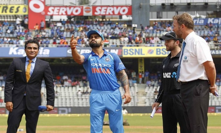 India vs New Zealand 2nd ODI Live Scorecard