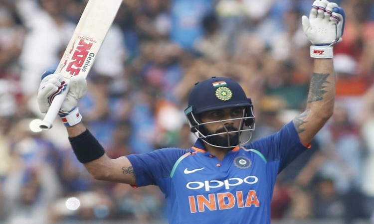 Virat Kohli becomes the fastest to score 5000 runs as a captain in international cricket