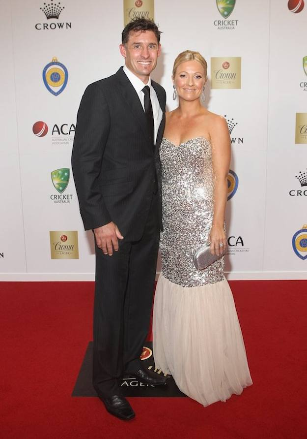 Mike Hussey Amy Hussey Images in Hindi