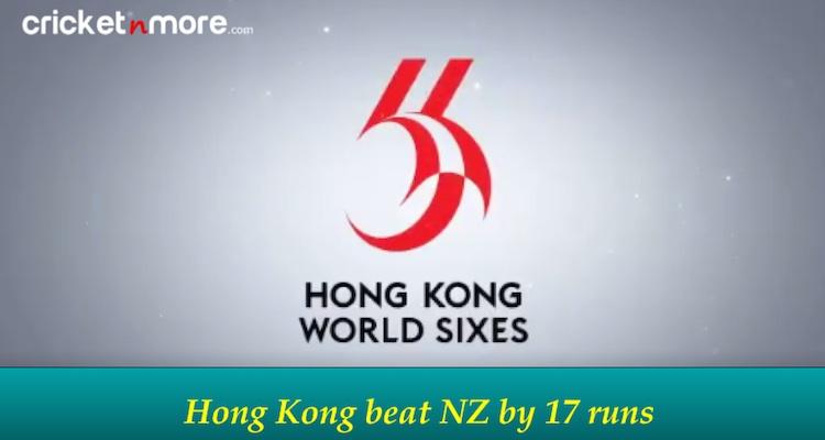 NZ vs Hong Kong
