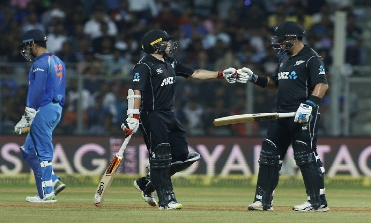 Ross Taylor and Tom Latham record stand helps New Zealand to beat India by 6 wickets