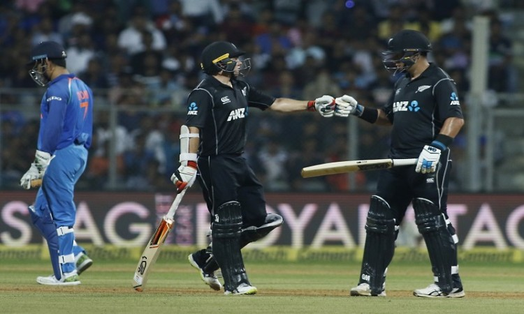 Images for Latham, Taylor guide N. Zealand to 6-wicket win over India