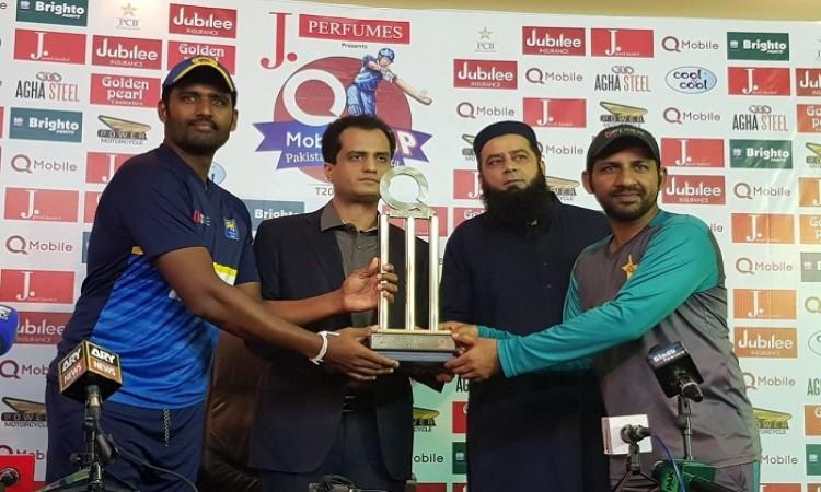 Pakistan vs Sri Lanka 1st T20 International Live Score