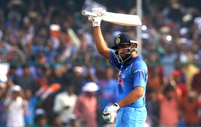 Rohit Sharma becomes the second quickest to 150 sixes in ODIs