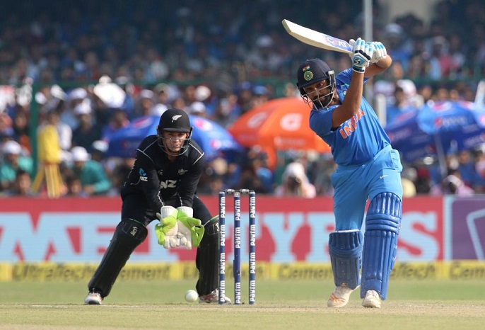 Rohit Sharma second player to score 1000 plus runs in ODIs in 2017