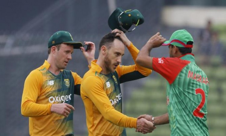 South Africa vs Bangladesh 1st ODI Live Score