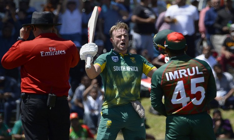 South Africa beat Bangladesh by 20 runs to take 1-0 lead
