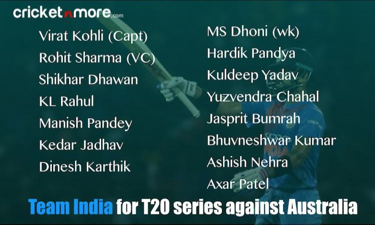 India T20 Squad