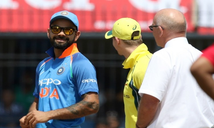 India vs Australia 5th ODI Live Scorecard