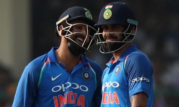 Rohit Sharma and Virat Kohli help India post 337/6 vs New Zealand in 3rd ODI