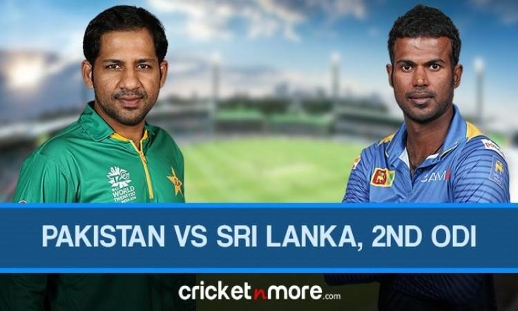 Pakistan vs Sri Lanka 2nd ODI Live Score