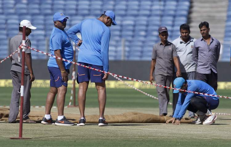 Pune pitch corruption