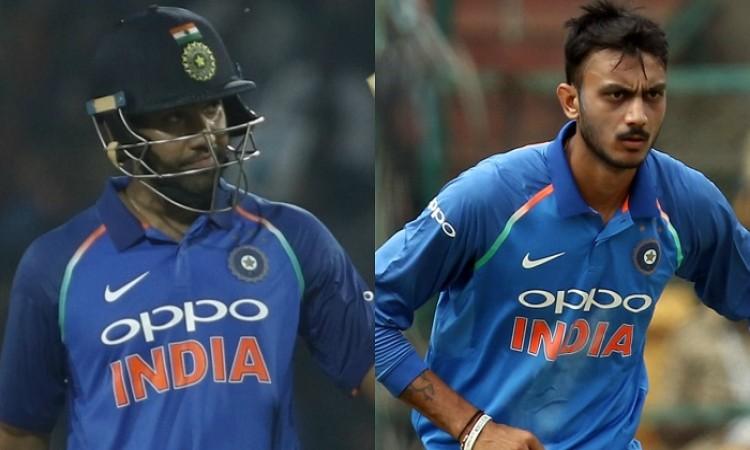 Rohit Sharma, Axar Patel climb in ICC ODI player rankings