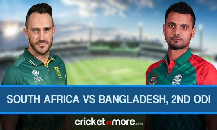 South Africa vs Bangladesh 2nd ODI Live Score Hindi