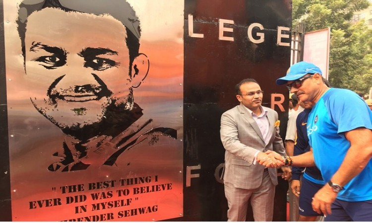 Honoured to have gate named after me says Virender Sehwag