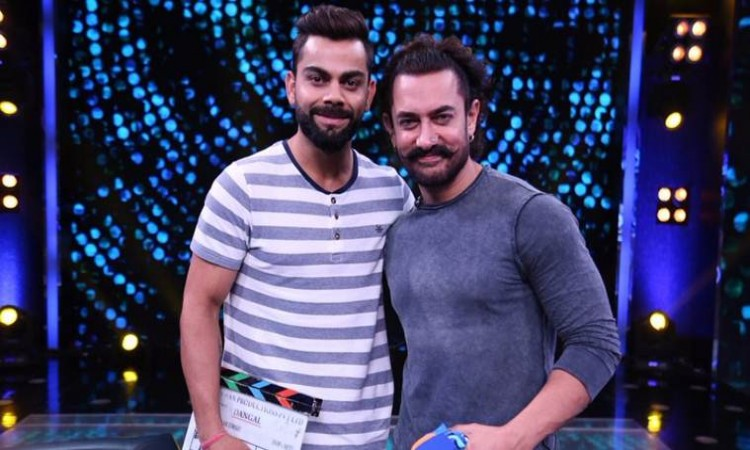 Virat Kohli is a true man with calm nature says Aamir Khan