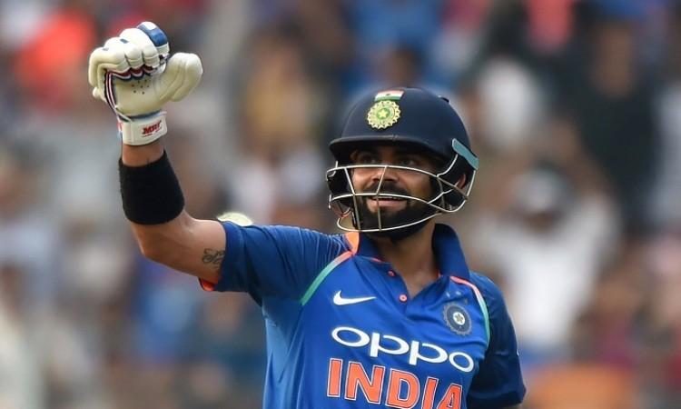 Virat Kohli ton carries India to 280