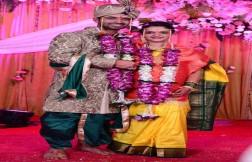 Ajinkya Rahane With His Wife Images