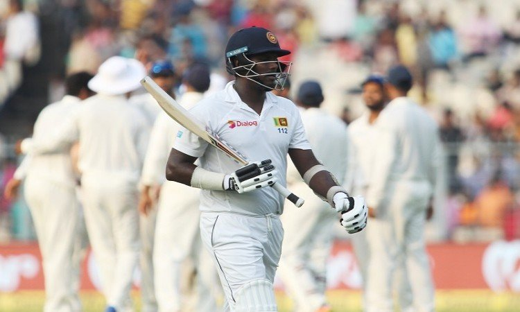 Angelo Mathews lauds India's pace battery