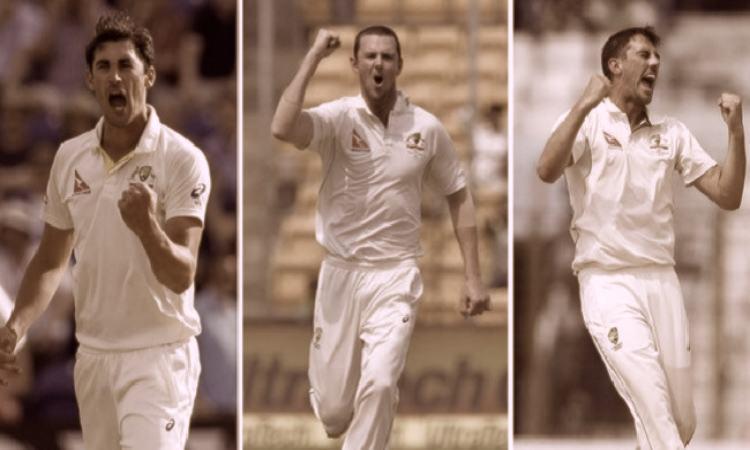 Australia fast bowling attack