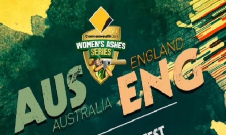 महिला एशेज टेस्ट के पहले दिन इंग्लैंड महिला टीम लड़खड़ाई