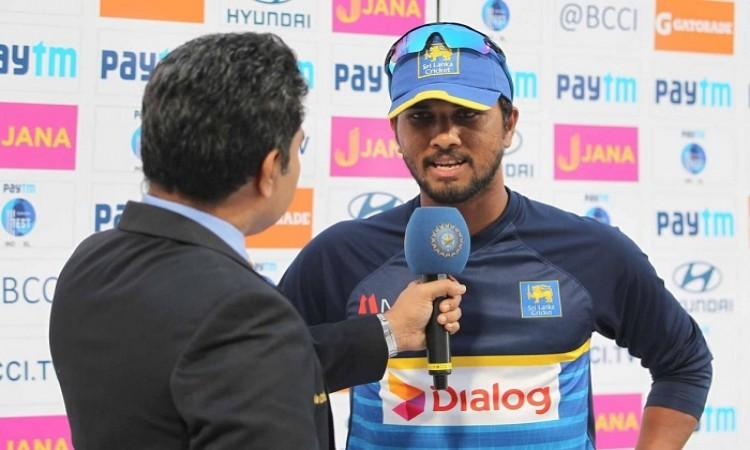 The last 10-15 overs put us under pressure, says Dinesh Chandimal