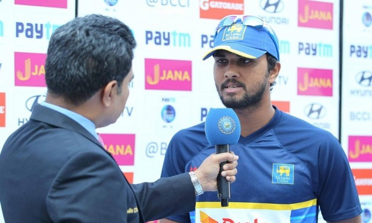 Our batting let us down, says Dinesh Chandimal