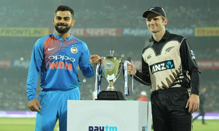 India vs New Zealand 1st T20I Live Score