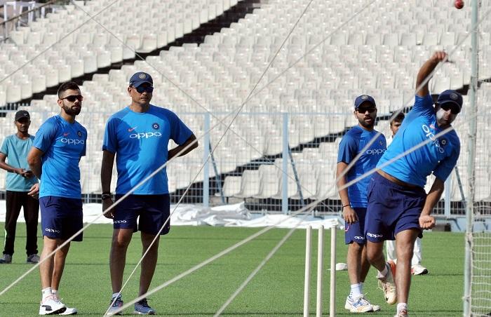 INDvsSL: India toil hard at Eden ahead of Sri Lanka Test