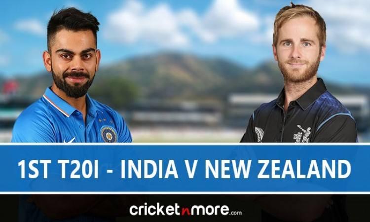 India vs New Zealand 1st T20I Live Score