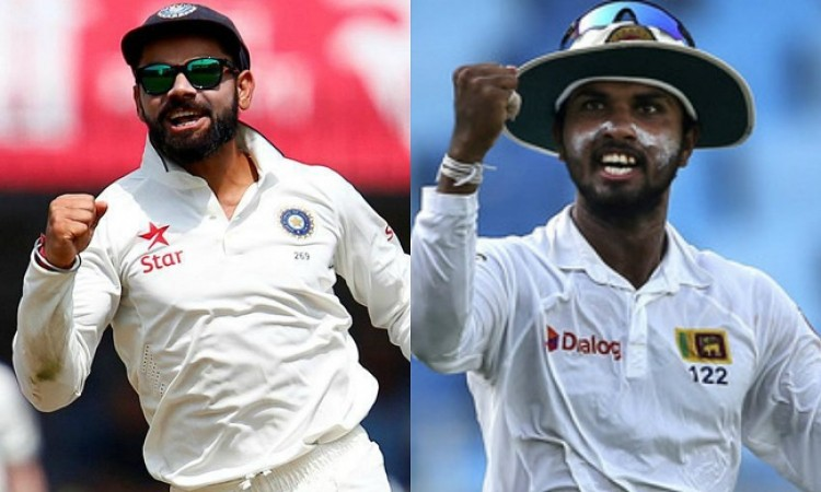 Sri Lanka win toss, opt to bowl against India in first test
