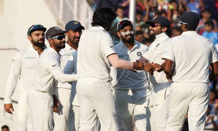Nagpur Test: Sri Lanka trail by 384 runs after India's 610/6d on Day 3