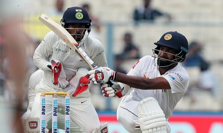 Images for First Test: Thirimanne helps Sri Lanka hold upper hand over India at Tea