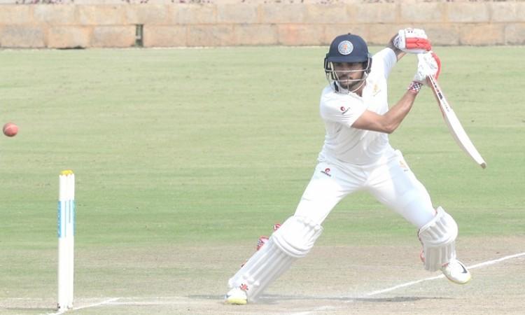 Ranji Trophy: Manish Pandey, Dega Nischal put Karnataka in driving seat
