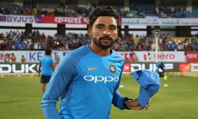 mohammed siraj conceded 53 runs in t20i debut match