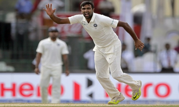 Ravichandran Ashwin third bowler in Test cricket to take 50 wickets in THREE consecutive years