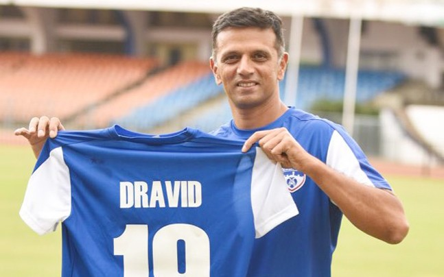 Images for ISL: Dravid becomes Bengaluru FC ambassador