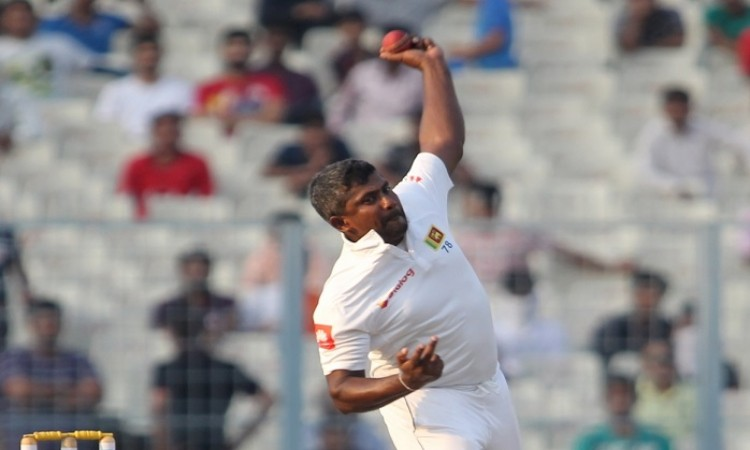 Rangana Herath out of Delhi Test, Jeffrey Vandersay in