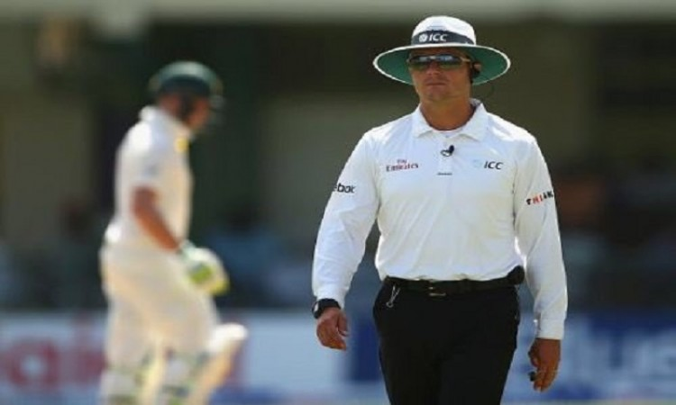 Umpire Richard Kettleborough to miss 3rd day's play