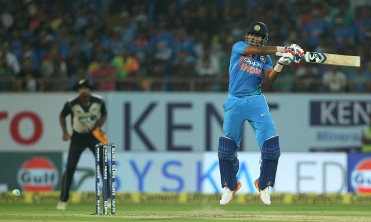 My goal to play world cup says Shreyas Iyer