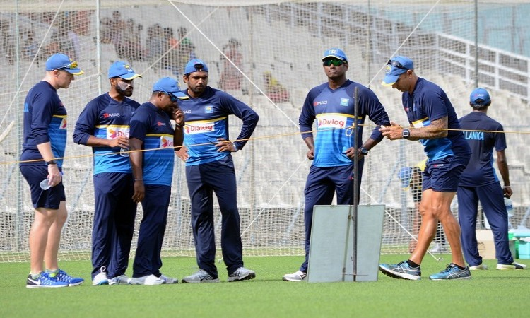 Images for Sri Lanka extend training session to focus on spin