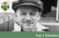 Top 5 Batsmen in Ashes