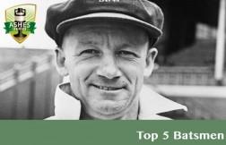 Top 5 Batsmen in Ashes