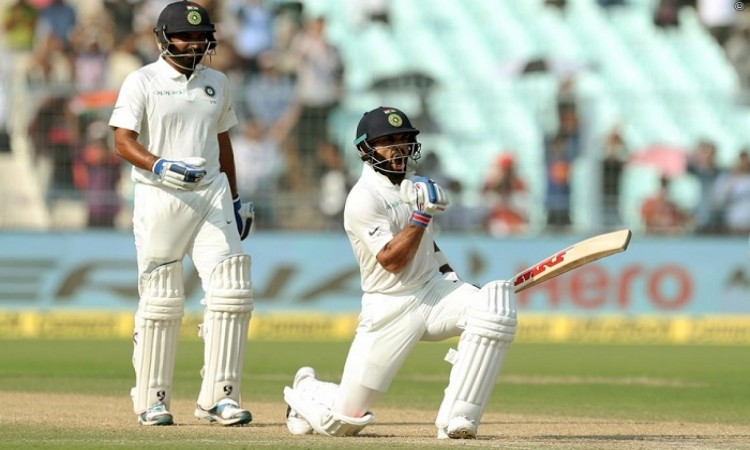 Virat Kohli races to 50th century in international cricket