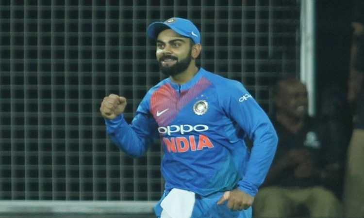 Want to encourage kids to come out and play sports says Virat Kohli
