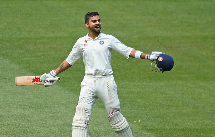 virat kohli equals sunil gavaskar record of most test century as Indian captain